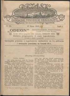 Brzask : Radomski Tygodnik Obrazkowy, 1916, R. 1, nr 28