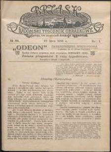 Brzask : Radomski Tygodnik Obrazkowy, 1916, R. 1, nr 30