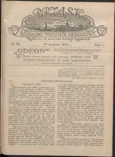 Brzask : Radomski Tygodnik Obrazkowy, 1916, R. 1, nr 32