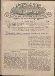 Brzask : Radomski Tygodnik Obrazkowy, 1916, R. 1, nr 33