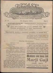 Brzask : Radomski Tygodnik Obrazkowy, 1916, R. 1, nr 34
