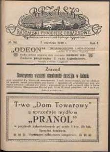 Brzask : Radomski Tygodnik Obrazkowy, 1916, R. 1, nr 36