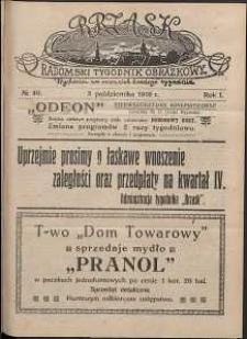 Brzask : Radomski Tygodnik Obrazkowy, 1916, R. 1, nr 40
