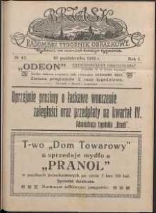 Brzask : Radomski Tygodnik Obrazkowy, 1916, R. 1, nr 42
