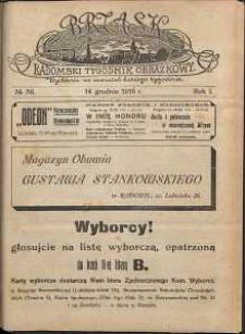 Brzask : Radomski Tygodnik Obrazkowy, 1916, R. 1, nr 50