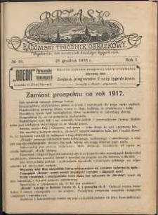 Brzask : Radomski Tygodnik Obrazkowy, 1916, R. 1, nr 51