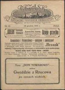 Brzask : Radomski Tygodnik Obrazkowy, 1916, R. 1, nr 52