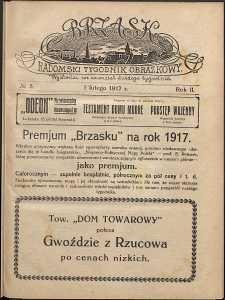 Brzask : Radomski Tygodnik Obrazkowy, 1917, R. 2, nr 5