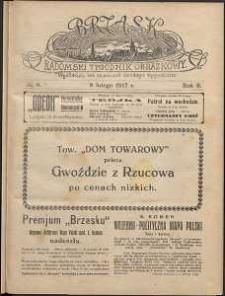 Brzask : Radomski Tygodnik Obrazkowy, 1917, R. 2, nr 6
