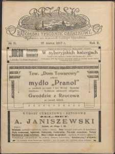 Brzask : Radomski Tygodnik Obrazkowy, 1917, R. 2, nr 11