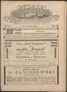 Brzask : Radomski Tygodnik Obrazkowy, 1917, R. 2, nr 14