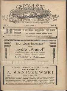 Brzask : Radomski Tygodnik Obrazkowy, 1917, R. 2, nr 18