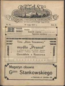 Brzask : Radomski Tygodnik Obrazkowy, 1917, R. 2, nr 19