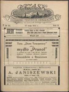 Brzask : Radomski Tygodnik Obrazkowy, 1917, R. 2, nr 20