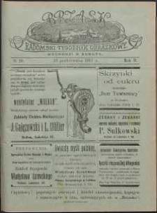 Brzask : Radomski Tygodnik Obrazkowy, 1917, R. 2, nr 29