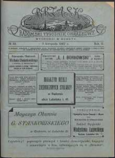 Brzask : Radomski Tygodnik Obrazkowy, 1917, R. 2, nr 32