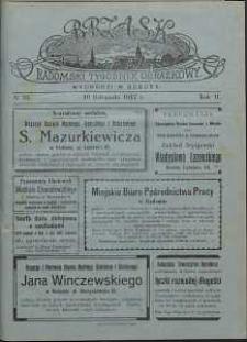 Brzask : Radomski Tygodnik Obrazkowy, 1917, R. 2, nr 33