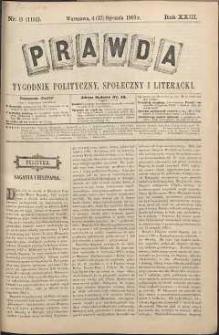 Prawda : tygodnik polityczny, społeczny i literacki, 1903, R. 23, nr 3