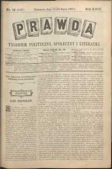 Prawda : tygodnik polityczny, społeczny i literacki, 1903, R. 23, nr 13