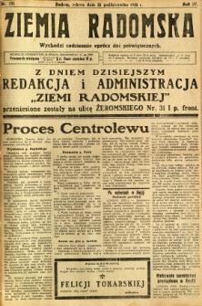 Ziemia Radomska, 1931, R. 4, nr 251