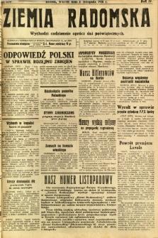 Ziemia Radomska, 1931, R. 4, nr 253