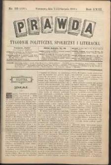 Prawda : tygodnik polityczny, społeczny i literacki, 1903, R. 23, nr 33