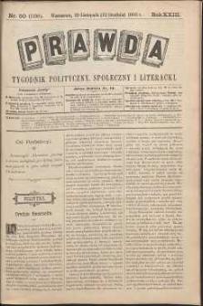 Prawda : tygodnik polityczny, społeczny i literacki, 1903, R. 23, nr 50
