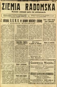 Ziemia Radomska, 1931, R. 4, nr 273