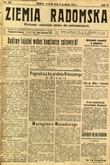 Ziemia Radomska, 1931, R. 4, nr 282