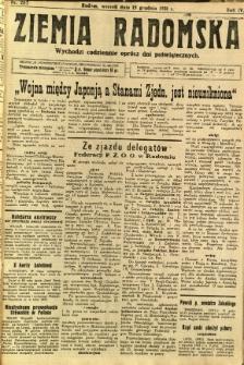 Ziemia Radomska, 1931, R. 4, nr 287