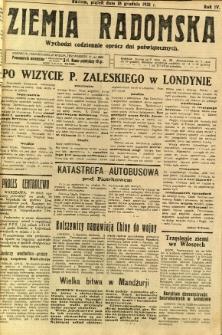Ziemia Radomska, 1931, R. 4, nr 290