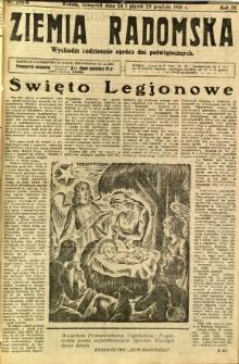 Ziemia Radomska, 1931, R. 4, nr 295-296