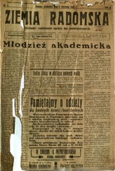 Ziemia Radomska, 1932, R. 5, nr 2
