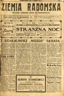Ziemia Radomska, 1932, R. 5, nr 3