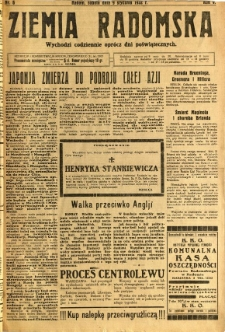 Ziemia Radomska, 1932, R. 5, nr 6