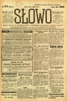 Słowo, 1923, R. 2, nr 104