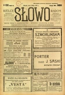 Słowo, 1923, R. 2, nr 108