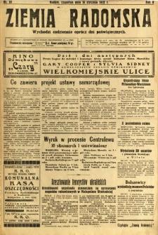 Ziemia Radomska, 1932, R. 5, nr 10