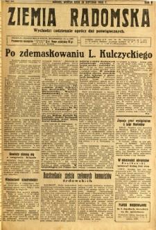 Ziemia Radomska, 1932, R. 5, nr 14