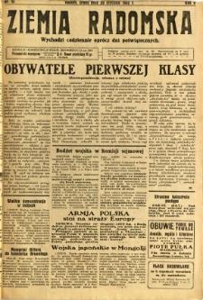 Ziemia Radomska, 1932, R. 5, nr 15