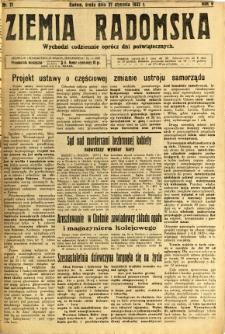 Ziemia Radomska, 1932, R. 5, nr 21