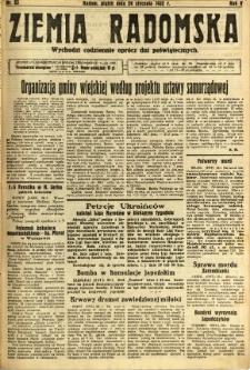 Ziemia Radomska, 1932, R. 5, nr 23