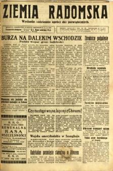 Ziemia Radomska, 1932, R. 5, nr 26