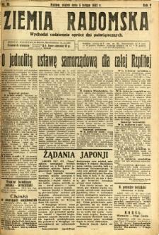 Ziemia Radomska, 1932, R. 5, nr 28