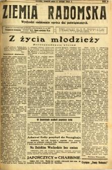 Ziemia Radomska, 1932, R. 5, nr 29
