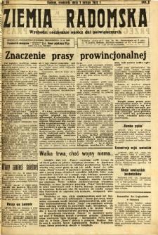 Ziemia Radomska, 1932, R. 5, nr 30