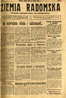 Ziemia Radomska, 1932, R. 5, nr 35