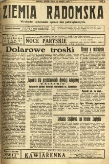 Ziemia Radomska, 1932, R. 5, nr 40