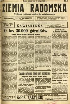 Ziemia Radomska, 1932, R. 5, nr 41