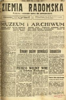 Ziemia Radomska, 1932, R. 5, nr 43